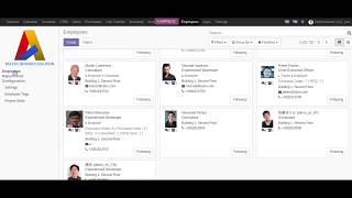 Project Skill Matching on Odoo v11