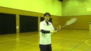 バドミントンラケットの握り方【シドニーオリンピック日本代表 井川里美】 thumbnail