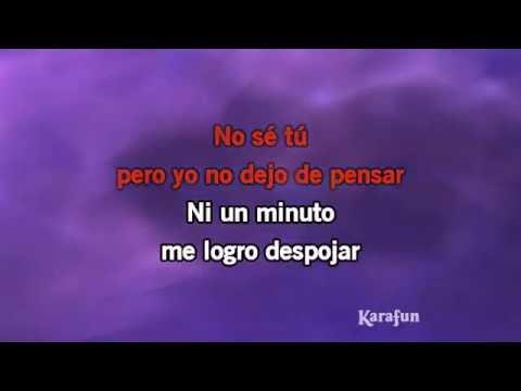 Karaoke No Sé Tú - Luis Miguel *
