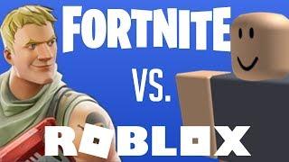 O Roblox é melhor que o Fortnite?