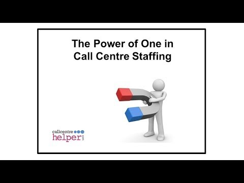 Webinar Reply   The Power of One in Call Centre Staffing