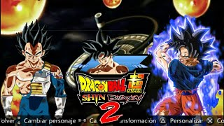 NEW SUPER Dragon Ball Z Shin Budokai 2 MOD/ISO 2017-2018 By Sthéfano Ssj (Review + Download)