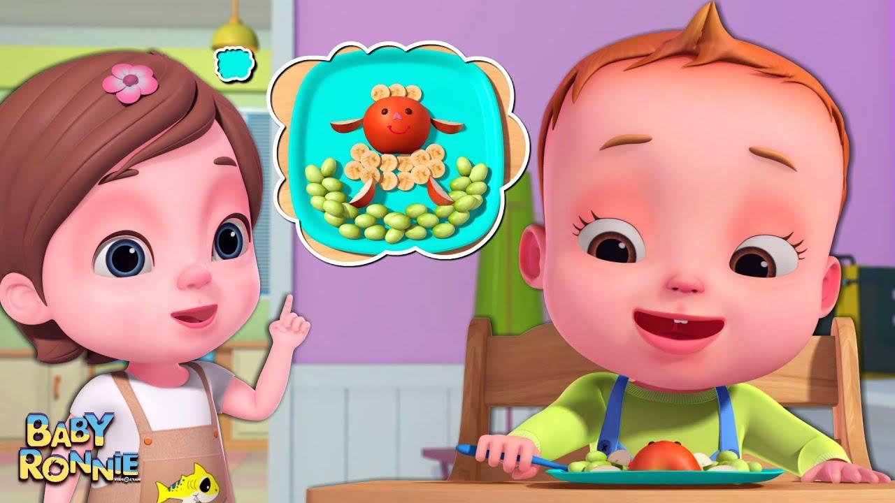 Nah Nah Ha Ha - Fruits Song | Baby Ronnie Rhymes | Nursery Rhymes & Kids Songs |Healthy Habits Songs