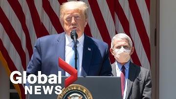 Coronavirus outbreak: Trump announces launch of 'Operation Warp Speed' vaccine task force | FULL