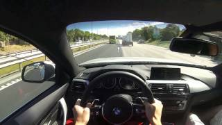 2014 New BMW 435d xDrive Driving POV Review GoPro Hero 3