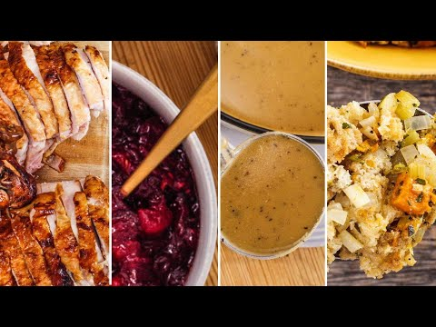 How To Roast A Thanksgiving Turkey In 1 Hour + Make-Ahead Thanksgiving Sides