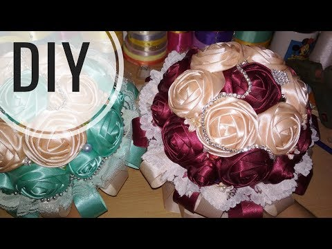 DIY || Cara Membuat Flower Bouquet Mangkok Tanpa Sterofoam 🌸 - Tutorial by Lista Tsurayya