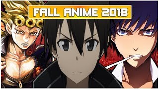 Memory's Fall Anime 2018 Lineup (What I'll Be Watching & Most Anticipated)