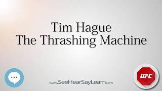 Tim Hague   UFC Fighter s Nicknames