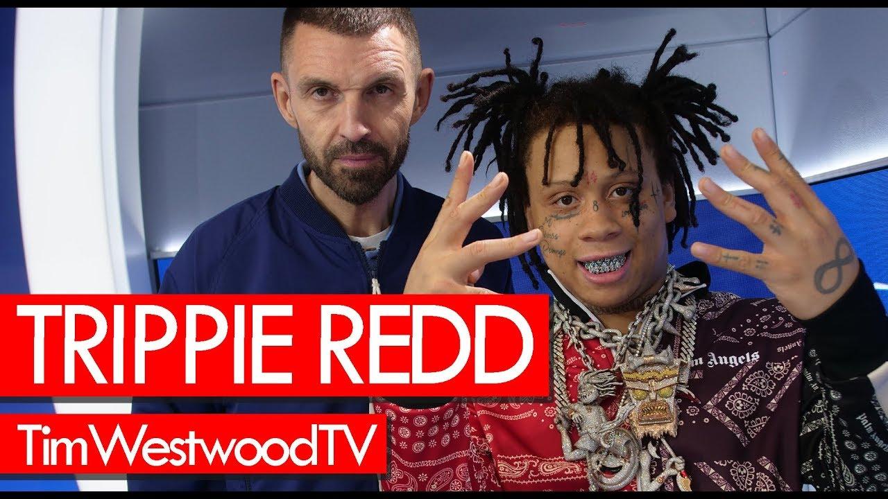Trippie Redd w/ full box of Ice! Talks new girl