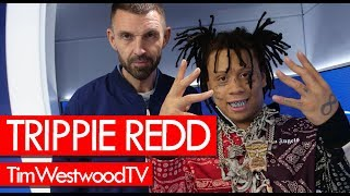 Trippie Redd w/ full box of Ice! Talks new girl, XXXTentacion, new music - Westwood