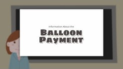 Information About the Balloon Payment