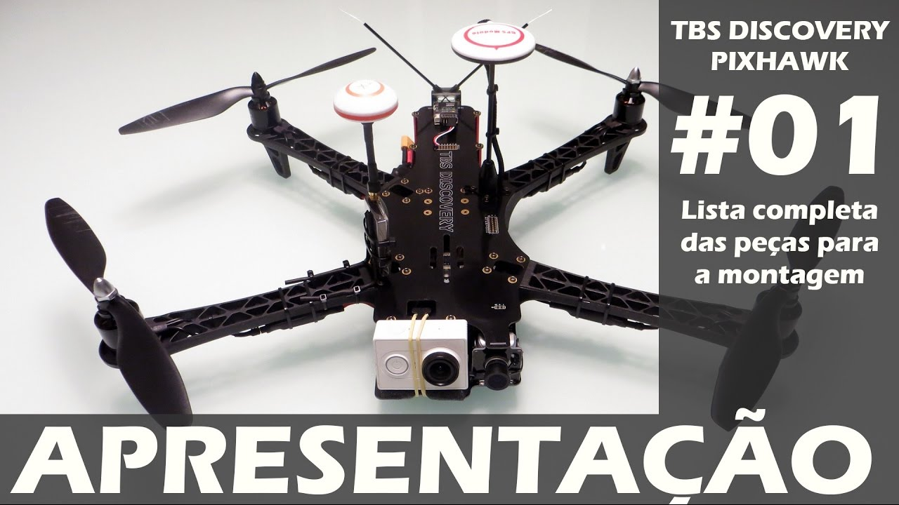 DRONE TBS Discovery Pixhawk - Vídeo 01 - Apresentação