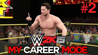 "WWE 2K15 My Career Mode - Ep. 2 - ""#1 CONTENDER!"" [WWE MyCareer XBOX ONE / PS4 / NEXT GEN Part 2]"