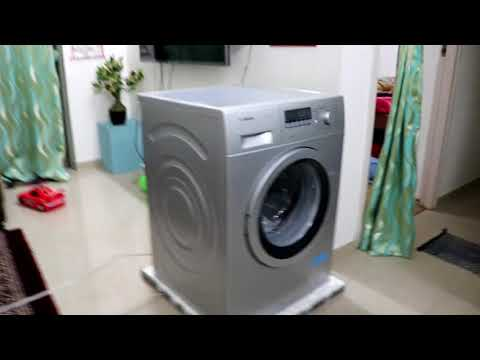 Unboxing and full review Bosch washing machine series 4 WAK24268IN