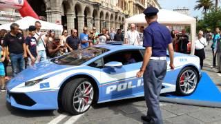 Lamborghini Huracan LP610-4 Polizia 2015 Videos