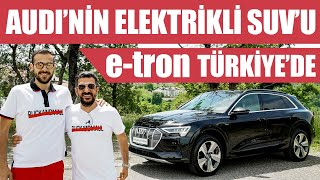 First test of the Turkey | Audi's electric SUV e-tron