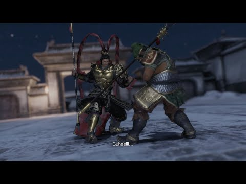 Dynasty Warriors 9 - Lu Bu vs Zhang Fei Cutscene