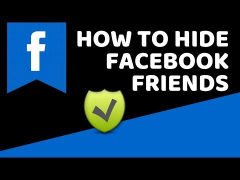 how to make friends public in facebook