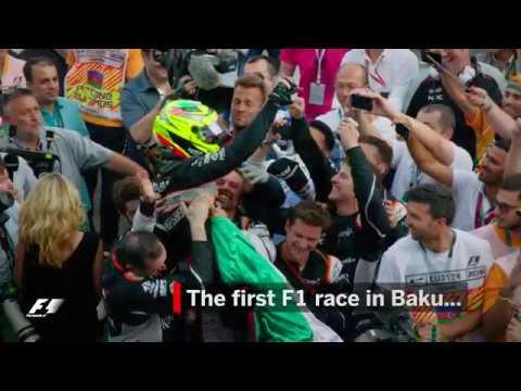 Sergio Perez Stars In The First F1 Race In Baku | 2016 European Grand Prix