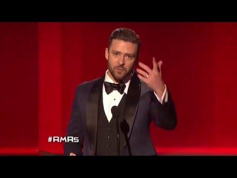 Justin Timberlake Wins Soul/RnB Male - AMA 2013