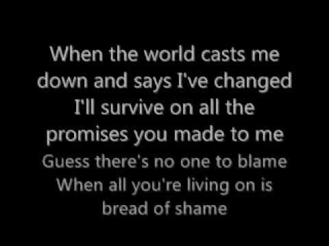 Creed-Bread of Shame Lyrics