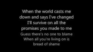 Creed-Bread of Shame Lyrics