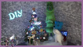 Мастер класс елка в новогодней композиции