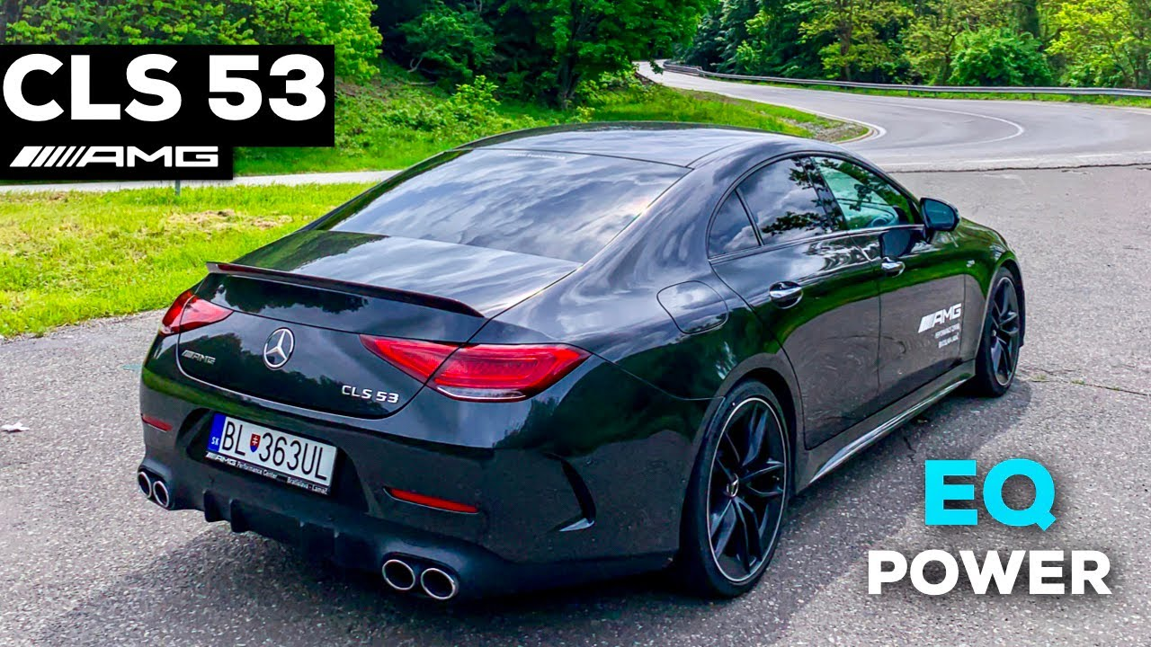 2019 MERCEDES AMG CLS53 Coupé FULL Drive Review LOUD Sound Edition 1 Acceleration 4MATIC+