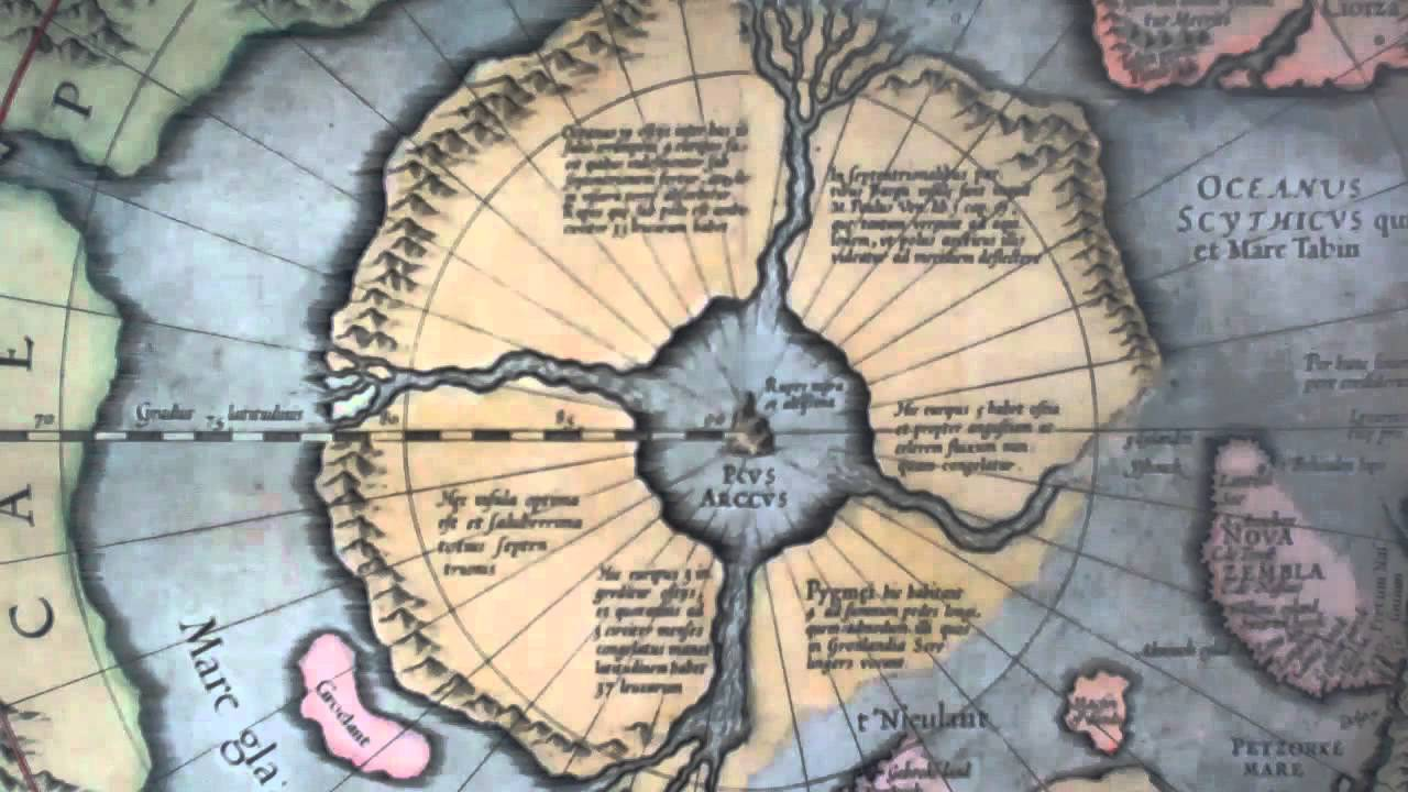 The Map House of London North Pole Map by Mercator 1613