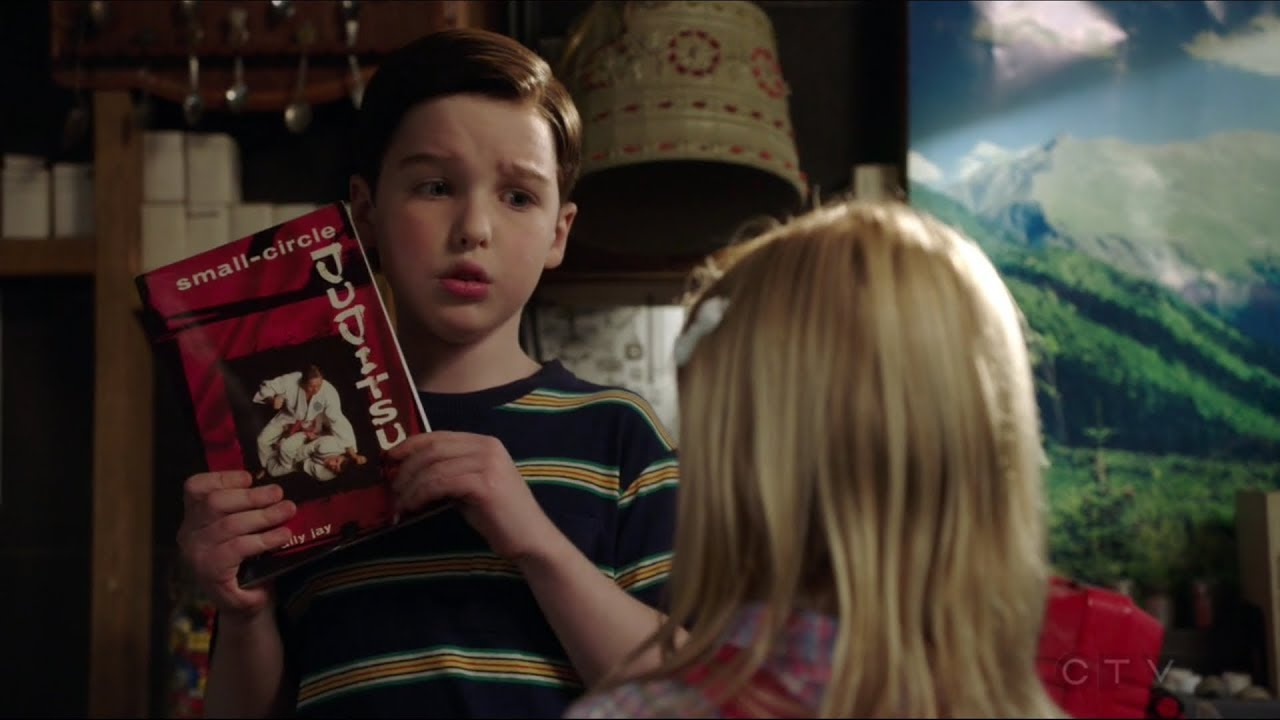 Young Sheldon Gets Beaten Up By This Little Girl - Young -6190