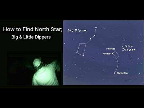 hqdefault how to find north star; big & little dippers youtube