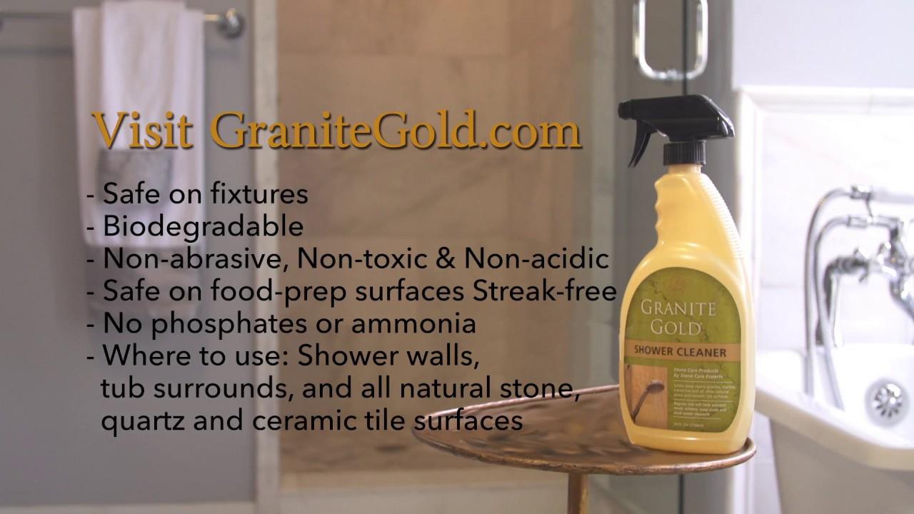 Granite Gold Shower Cleaner®