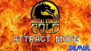 Mortal Kombat Gold: Attract Mode (DEMUL) (1080p 60fps)