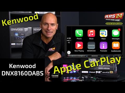 Kenwood DNX8160DABS | Anleitung | DoppelDIN Autoradio mit Apple CarPlay und Android Auto