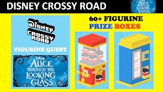 Disney Crossy Road Prize Box Opening (Quest for Alice Through the Looking Glass Figurines)