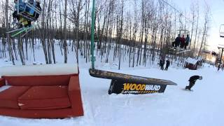 So-Gnar Snowboard Camp Tour Recap at Granite Peak (WI) - 2013