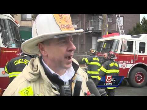 2 Mass. firefighters injured in 4-alarm blaze