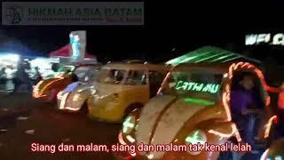 Wisata malam di kota Batam | lirik lagu zapin batam