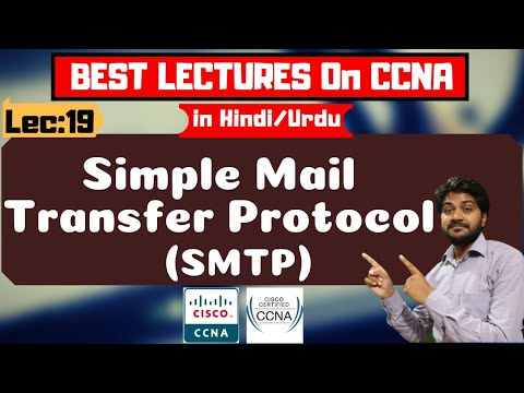 Simple Mail Transfer Protocol (SMTP)-Hindi/Urdu | How SMTP Works | CCNA Tutorials हिंदी में