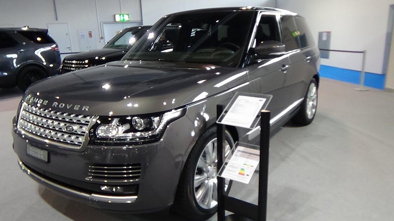 Range Rover Vogue 2018 >> 2018 Range Rover 3 0 Tdv6 Vogue Exterior And Interior Auto
