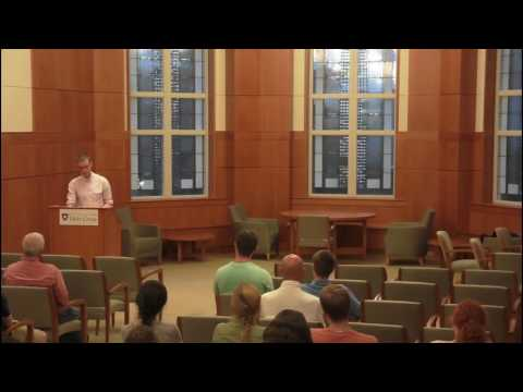 """Rupert Shortt lectures on """"Christianophobia,"""" genocide and oppression of Christians around the world"""