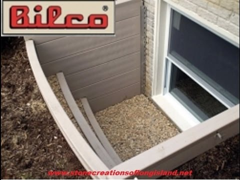 Bilco Scapewel Egress Window How To Stone Creations Of