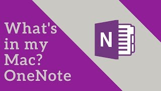 OneNote | Productivity Tool | What's in my Mac - #3 | Tech Primers