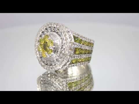 mens-14k-white-solid-gold-diamond-custom-pinky-ring-with-yellow-diamonds-15.68-ctw
