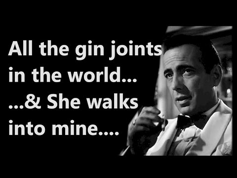 off all the gin joints quote