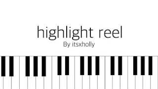 Video highlight reel 2 // bts // piano tutorial download MP3, 3GP, MP4, WEBM, AVI, FLV Agustus 2018