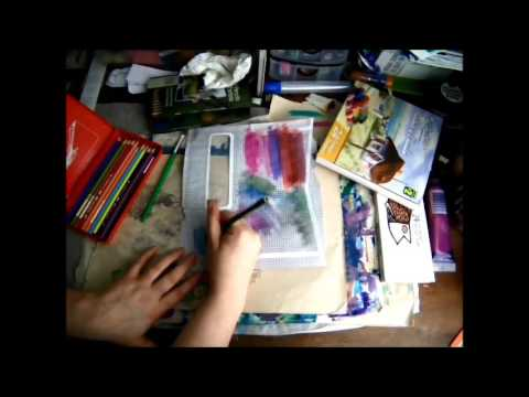 Quick Tips: Upcycled Painted Security Envelopes. Building your stash on the cheap