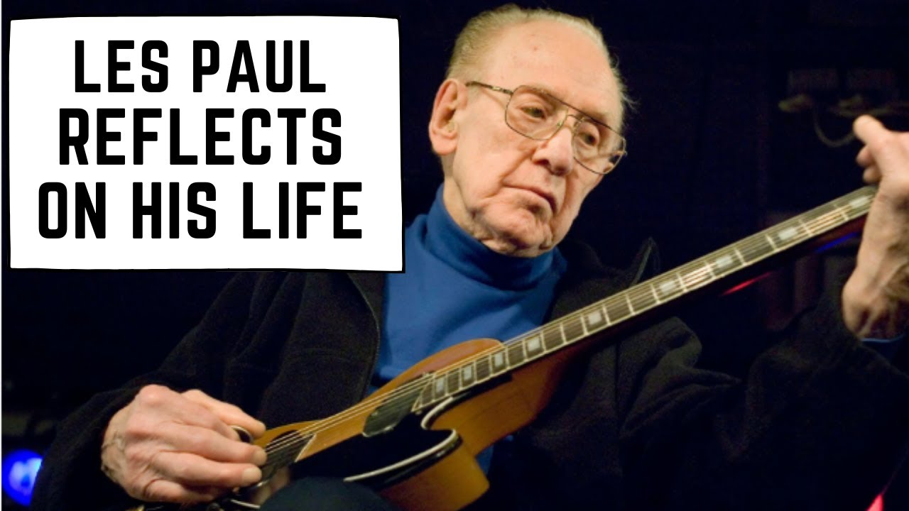 Les Paul Reflects on His Life: The Les Paul Guitar, Multitrack Recording and MORE!