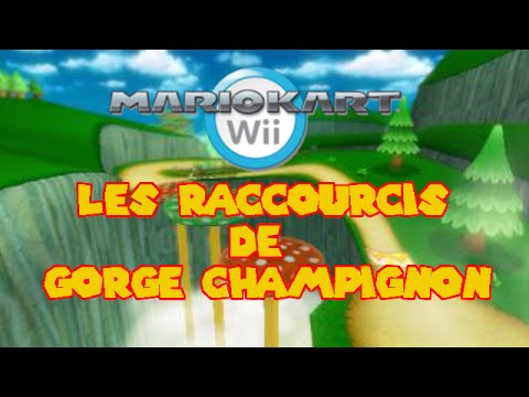 Mario kart wii les passages secrets de gorge champignon - Passage secret mario bros wii ...